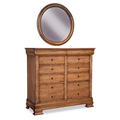 Durham Round Mirror