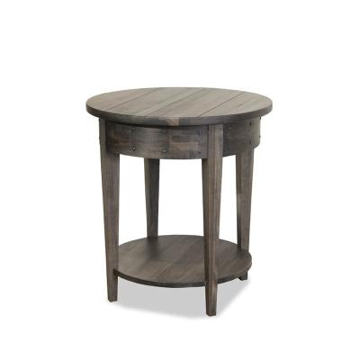 Durham Round Lamp Table
