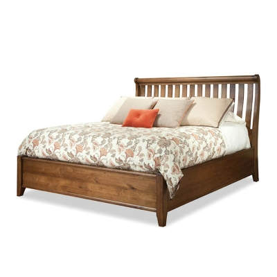 Durham Sleigh Bed Complete