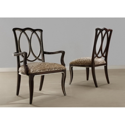 Eastern Legends Wooden Back Arm Chair