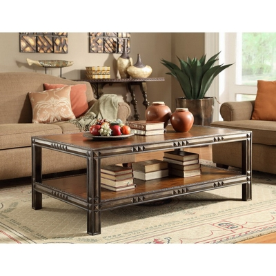 Eastern Legends Rectangular Coffee Table