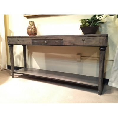 Eastern Legends Flip Top Console Table