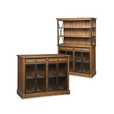 Fairfield Low Bookcase