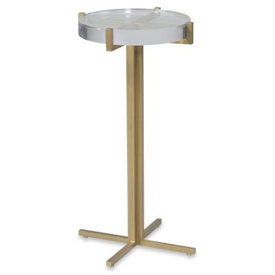 Fairfield Acrylic Top Drink Table