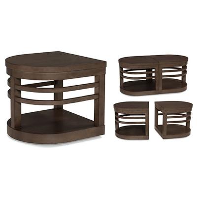 Fairfield Mobile Tandem Table