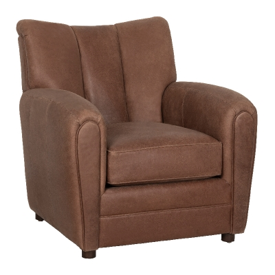 Fairfield Leather Lounge Chair