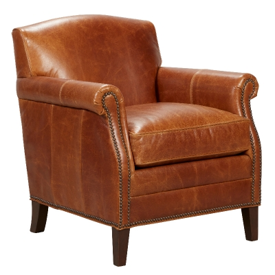 Fairfield Lounge Leather Chair