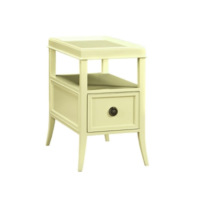 Fauld End Table With Drawer