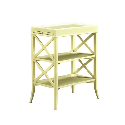 Fauld Tall X End Side Table