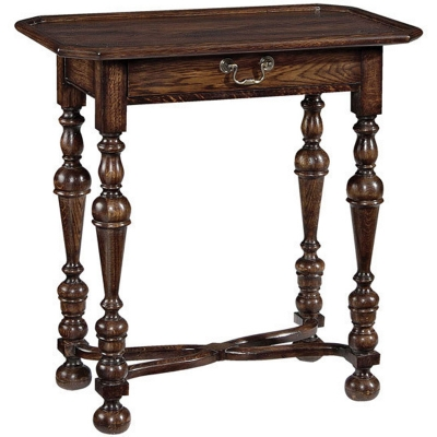Fauld End Table In William And Mary Style