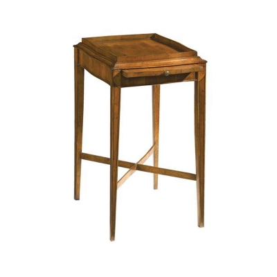 Fauld Side Table With Serpentine Top