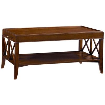 Fauld Rectangular X End Coffee Table
