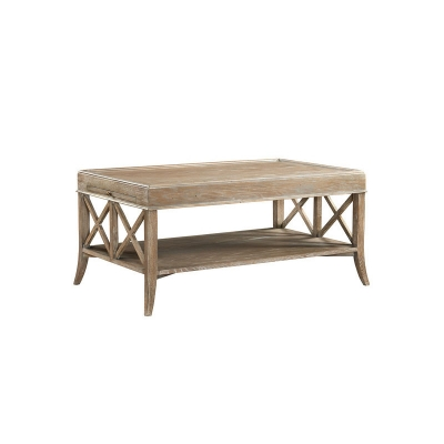 Fauld Rectangular X End Cocktail Table