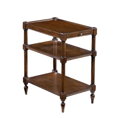 Fauld End Table With Turned Legs