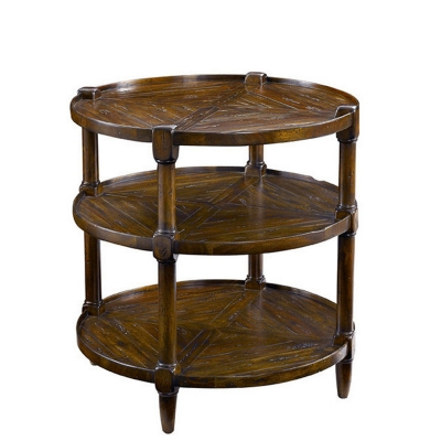 Fauld Round End Table