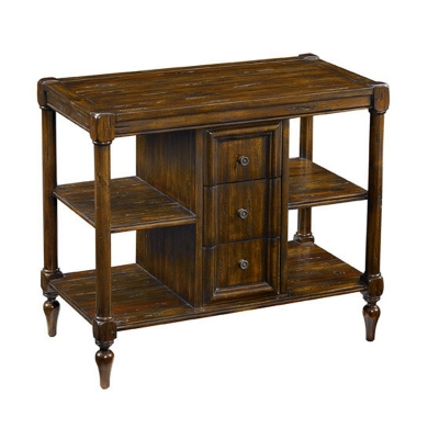 Fauld Three Drawer End Table