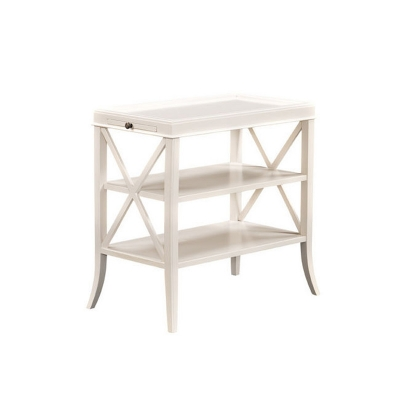 Fauld X End Lamp Table
