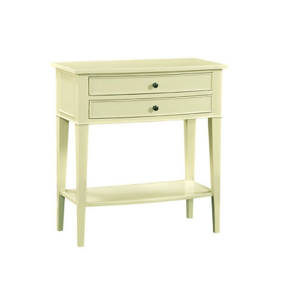 Fauld Two Drawer Side Table