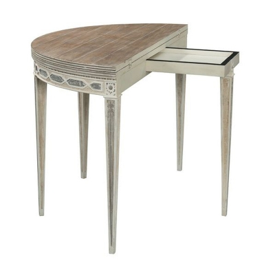 Fauld Cote D Azur Demi Lune Console to Round Table