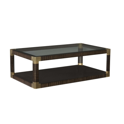 Fine Furniture Design Posh Rectangular Cocktail Table