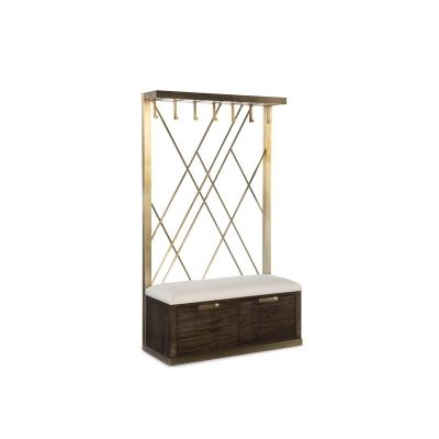Fine Furniture Design Silhouette Leather Hall Tree