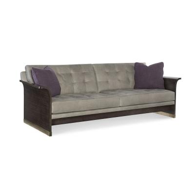 Fine Furniture Design Dmitry Leather Slab End Sofa