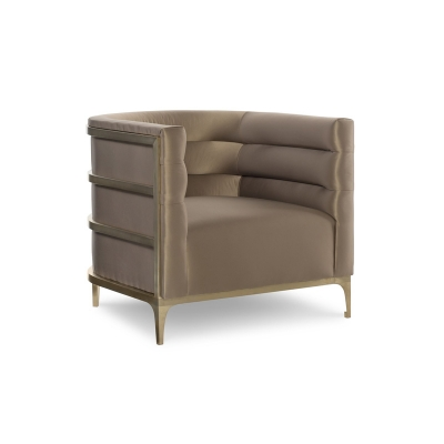 Fine Furniture Design Witherspoon Leather Channel Back Chair