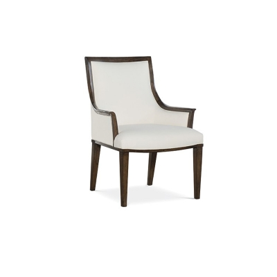 Fine Furniture Design Hutton Leather Arm Chair