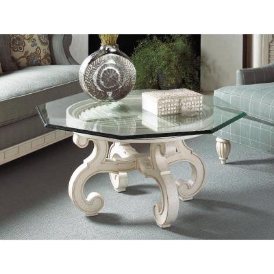 Fine Furniture Design Glass Top Cocktail Table