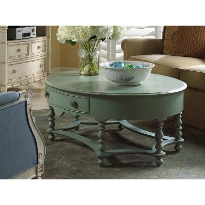 Fine Furniture Design Oval Cocktail Table