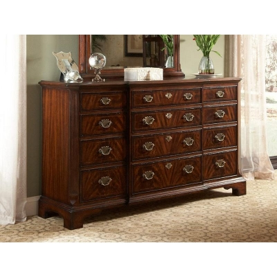Fine Furniture Design Breakfront Drawer Dresser