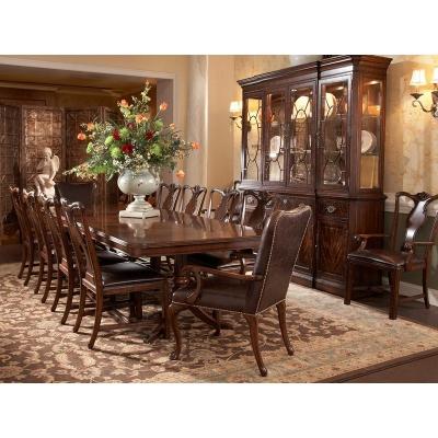 Fine Furniture Design Double Pedestal Dining Table