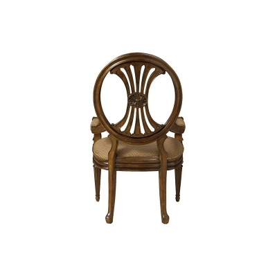 Fine Furniture Design Oval Back Arm Chair
