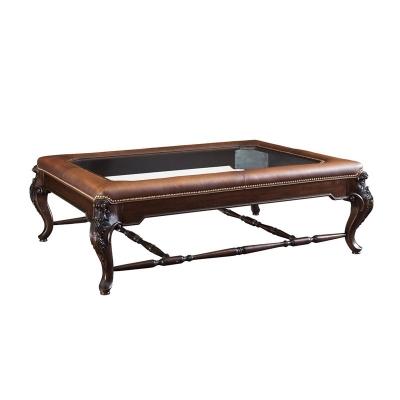 Fine Furniture Design Upholstered Top Cocktail