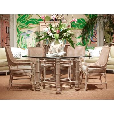 Fine Furniture Design Makira Glass Top Dining Table