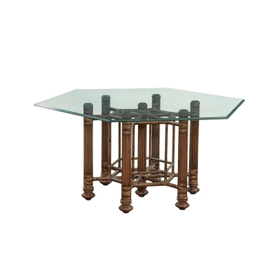 Fine Furniture Design Makira Glass Top Dining Table