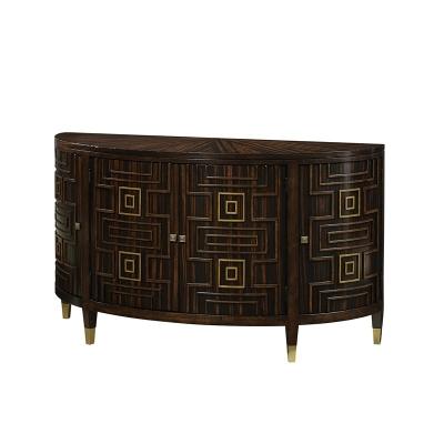 Fine Furniture Design Half Moon Bay Demilune Cabinet