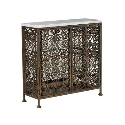 Fine Furniture Design Volute Metal Console