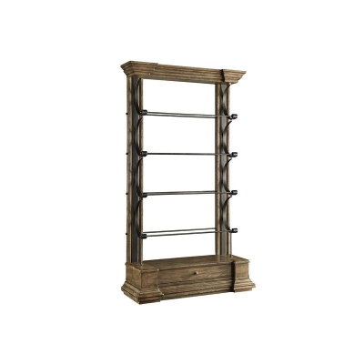 Fine Furniture Design Cambrion Occasional Wall Bookcase 36 inch Shelving Wall