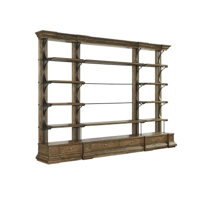 Fine Furniture Design Cambrion Occasional Bookcase 55 inch Shelving Unit