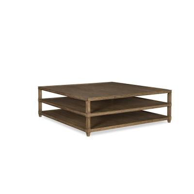 Fine Furniture Design Square Cocktail Table
