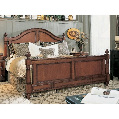 Fine Furniture Design Carolnius King Panel Bed