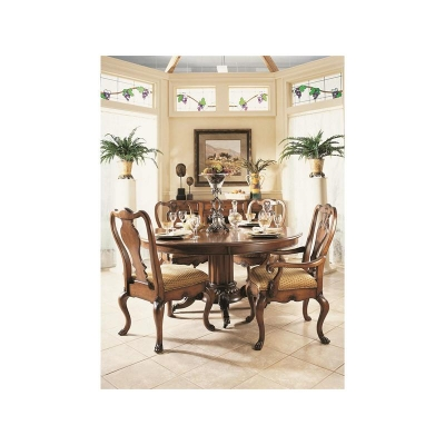 Fine Furniture Design Hearts of Wine Slat Back Side Chair
