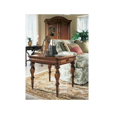 Fine Furniture Design Tannin Rectangular End Table