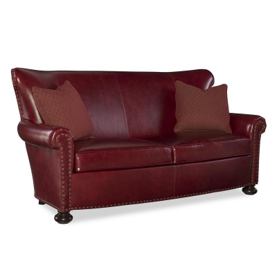 Fine Furniture Design Carlton Leather Loveseat