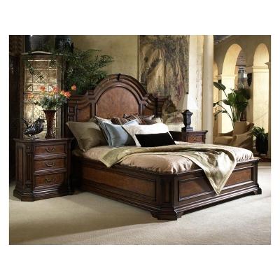 Fine Furniture Design King Mantle Bed