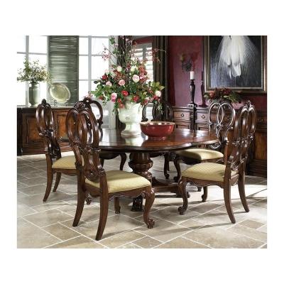 Fine Furniture Design Carved Back Side Chair