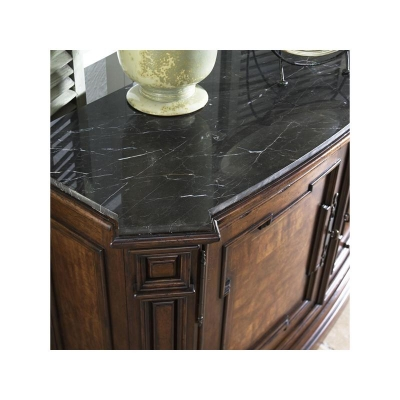 Fine Furniture Design Curved Credenza