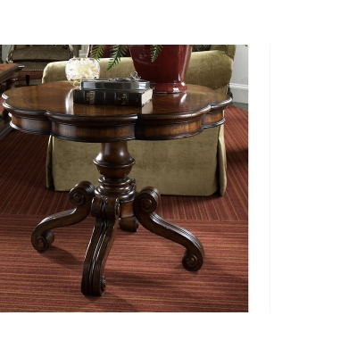 Fine Furniture Design Round Lamp Table