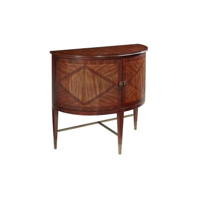 Fine Furniture Design Demilune Cabinet